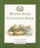 Winter Story Colouring Book : ...