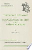 illustration Théologie négative et connaissance de Dieu chez Maître Eckhart