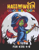 Halloween Coloring Book For Kids 4 8