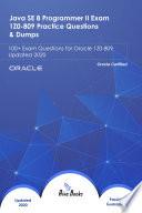 Java Se 8 Programmer Ii Exam 1z0 809 Practice Questions Dumps