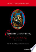 Eighteenth Century Poetry