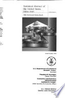 Statistical Abstract Of The United States: 2004-2005 : social, and economic organization of...
