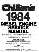 Chilton s diesel engine service manual  1984