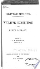 Wycliffe Exhibition In The King S Library