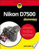Nikon D7500 For Dummies