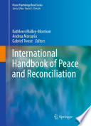 International Handbook of Peace and Reconciliation
