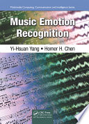 Music Emotion Recognition book