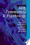 Self  Community and Psychology