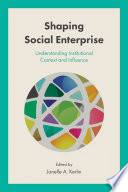 Shaping Social Enterprise