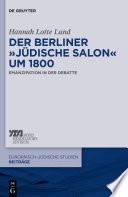 """Der Berliner """"jüdische Salon"""" um 1800"""