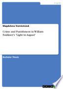 Crime and Punishment in William Faulkner s  Light in August