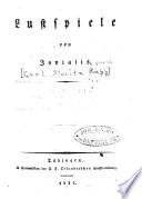 Lustspiele: Herr von Falkenstern. Die kaiserkrönung