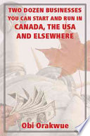 download ebook two dozen businesses you can start and run in canada, the usa and elsewhere pdf epub