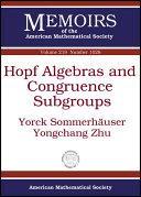 Hopf Algebras and Congruence Subgroups