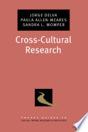 Cross cultural Research