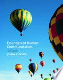 Essentials of Human Communication