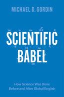 Scientific Babel