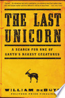 The Last Unicorn by William deBuys