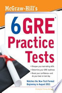 McGraw Hill s 6 GRE Practice Tests