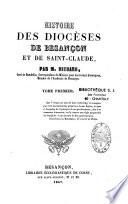 Histoire des diocèses de Besançon et de Saint-Claude