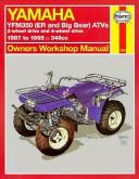 Yamaha Yfm350 Atv Owners Workshop Manual
