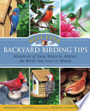 Best Ever Backyard Birding Tips