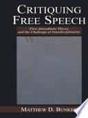 Critiquing Free Speech
