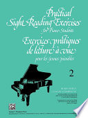 Practical Sight Reading Exercises for Piano Students  Book 2