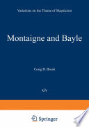 Montaigne and Bayle