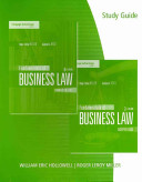 Study Guide for Miller Jentz s Fundamentals of Business Law  Summarized Cases  8th