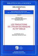 Les traductions de l'italien en français au XVIe siècle