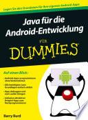 Java f  r die Android Entwicklung f  r Dummies