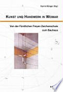 Kunst und Handwerk in Weimar