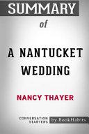 A Nantucket Wedding Pdf/ePub eBook