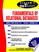 Schaum s Outline of Fundamentals of Relational Databases