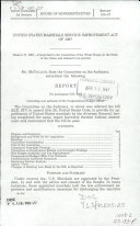 United States Marshall Service Improvement Act of 1997