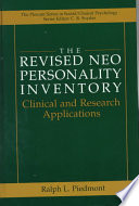 The Revised NEO Personality Inventory: Clinical and Research Applications