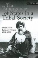 Ebook Emergence of States in a Tribal Society Epub Uzi Rabi Apps Read Mobile