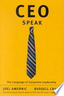 CEO Speak