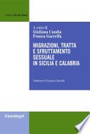 Migrazioni  tratta e sfruttamento sessuale in Sicilia e Calabria