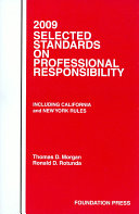 2009 Selected Standards On Professional Responsibility