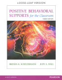 Positive Behavioral Supports for the Classroom  Enhanced Pearson Etext with Loose Leaf Version    Access Card Package