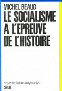 Le socialisme à l'épreuve de l'Histoire 1800-1981