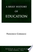 illustration du livre A Brief History of Education