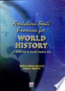 Analytical Skill Exercises for World History Iii  2002 Ed
