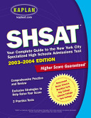 SHSAT 2003 2004
