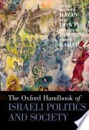 The Oxford Handbook of Israeli Politics and Society Book PDF