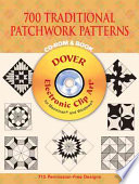 700 Traditional Patchwork Patterns and Book