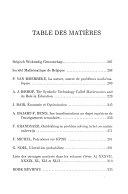 Bulletin de la Société Mathématique de Belgique