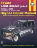 Toyota Land Cruiser Automotive Repair Manual